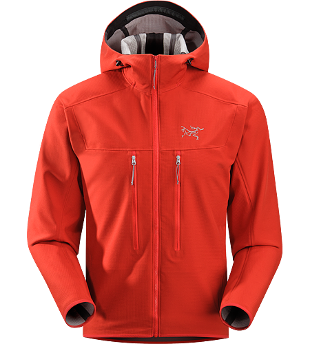 Acto MX Hoody Men's Highly breathable, air permeable, mid layer hooded hardfleece jacket that provides bulk-free warmth for all day activity