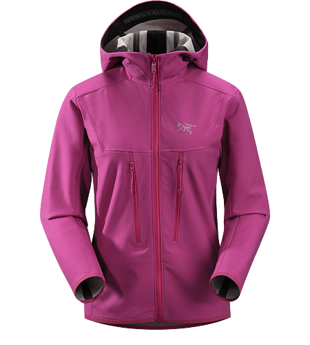 Acto MX Hoody Women's Highly breathable, air permeable, mid layer hooded hardfleece jacket that provides bulk-free warmth for all day activity