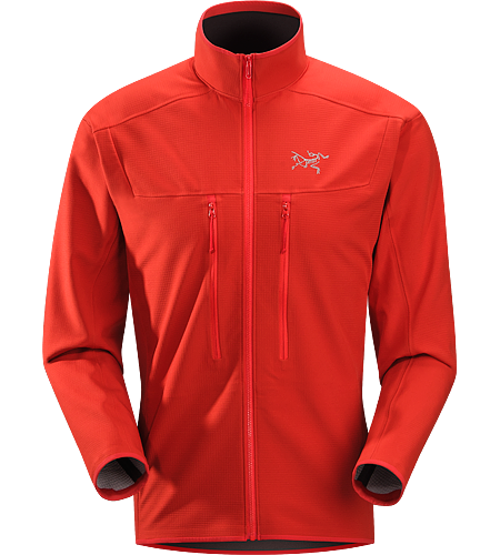 Acto MX Jacket Men's Highly breathable, air permeable, mid layer hardfleece jacket that provides bulk-free warmth for all day activity