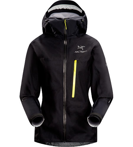 Alpha FL Jacket Women's Fully waterproof, minimalist jacket designed for fast and light alpine adventures. Built using an innovative new GORE-TEX® Active Shell textile for super lightweight, breathable wet-weather protection.