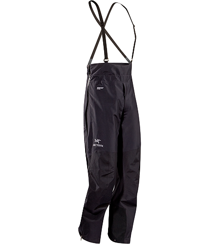 Alpha LT 1/2 Bib Men's Lightweight, weather resistant bib pant designed for use in severe alpine conditions