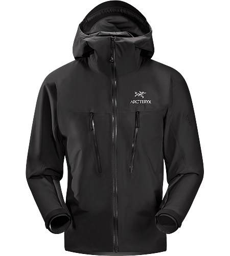 Alpha LT Jacket Men's Exceptionally lightweight, durable and fully waterproof jacket for all alpinist sports; ideal for use with a climbing harness. Our lightest 3-layer GORE-TEX® Pro Shell.