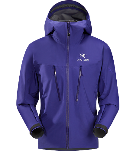 Alpha LT Jacket Men's Exceptionally lightweight, durable and fully waterproof jacket for all alpinist sports; ideal for use with a climbing harness. Our lightest 3-layer GORE-TEX Pro Shell.