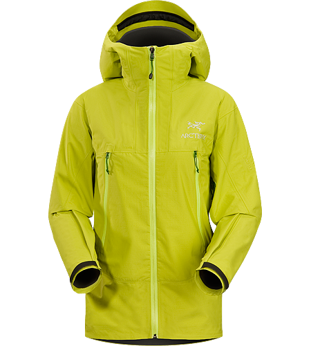 Alpha SL Jacket Women's Super lightweight, waterproof GORE-TEX PacLite jacket with essential backcountry features and helmet compatible Speed Hood; ideal as an easily packable emergency storm jacket in an alpine environment.