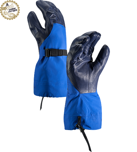 Alpha SV Glove Men's Newly redesigned with enhanced textile and feature set. Anatomically superior, advanced waterproof GORE-TEX® glove, engineered using our new Tri-Dex™ Technology; Ideal for use in the backcountry.