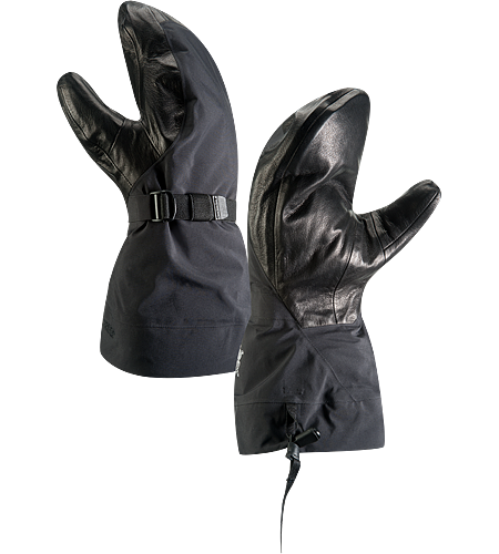 Alpha SV Mitt Newly redesigned with enhanced textile and feature set. Anatomically superior, advanced waterproof GORE-TEX mitten-style glove, engineered using our new Tri-Dex Technology; Ideal for use in the backcountry