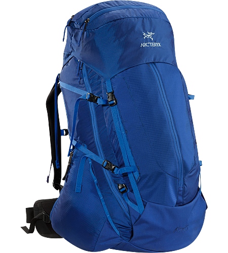 Altra 75 Men's Dieser Trekking- und Reiserucksack, der ber das neue Arc'teryx-eigene C-Tragesystem im Verbundaufbau verfgt, meistert mit seinem Volumen von 75Litern mhelos Gepck fr drei bis sieben Tage.