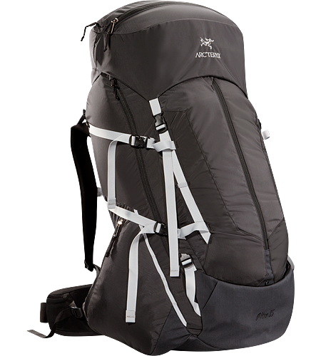 Altra 85 Men's Five-plus day, 85 litre volume expedition back pack that carries heavy loads comfortably for long periods over rough terrain when trekking and backpacking, constructed with the new C Composite Construction system,