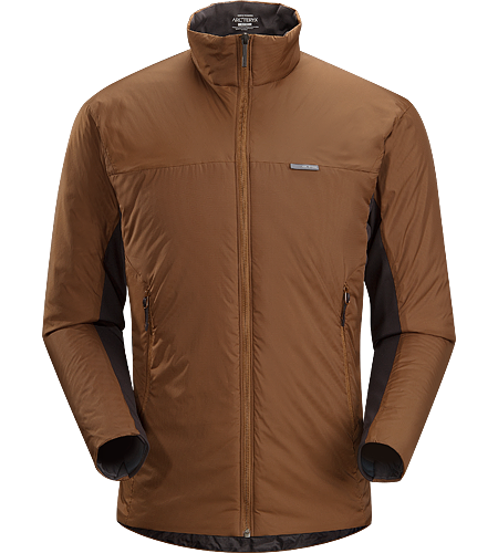 Aphix Jacket Men's Leichte, isolierte Jacke, die solo oder als mittlere Bekleidungsschicht getragen werden kann.