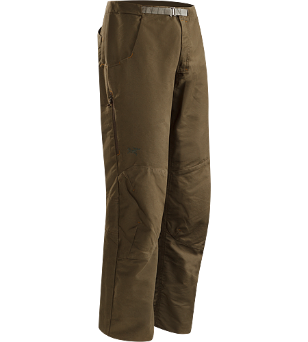 Aristo Pant Men's Langlebige, strapazierfhige Hose aus Baumwolle/Nylon-Canvas mit integriertem, verstellbarem Grtel.