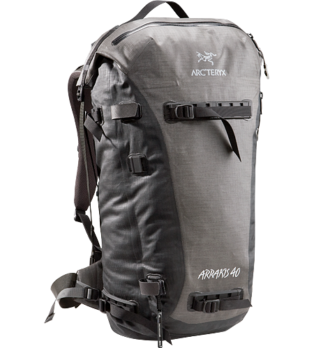 Arrakis 40 Weather resistant and seam-sealed, durable backpack, ideal for skiing, cragging and hiking.