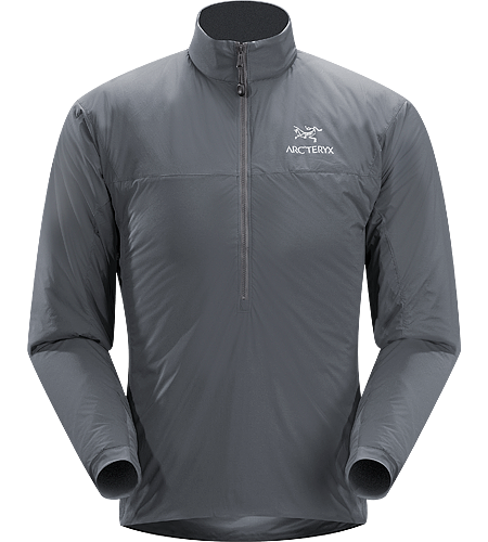 Atom LT Pullover Men's Insulated pullover constructed using Coreloft 60™ for lightweight, insulative comfort during colder conditions. Ideal as a mid layer under a waterproof shell, or as an outer layer on cold, dry days.