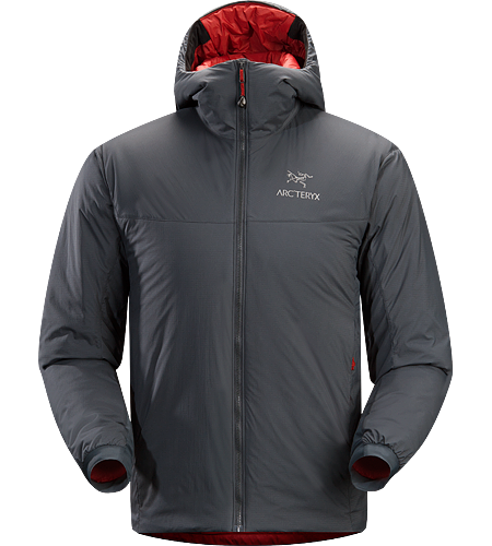 Atom SV Hoody Men's Warm insulated Coreloft jacket with an insulated hood; Ideal for use as a super-warm mid-layer in cold conditions, or as a stand-alone piece in warmer conditions.