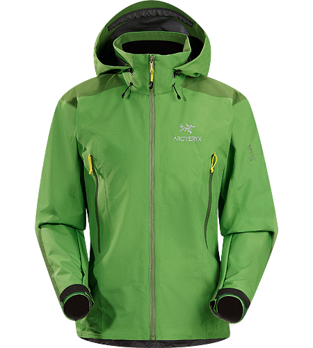 Beta AR Jacket Men's Lightweight & packable, waterproof GORE-TEX® jacket;  Hip length with a helmet compatible Drop Hood™
