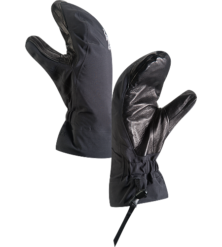 Beta AR Mitt Women's Anatomically designed, waterproof mitts with fleece liner and easy-pull wrist cinch system. Ideal for all around alpine adventures