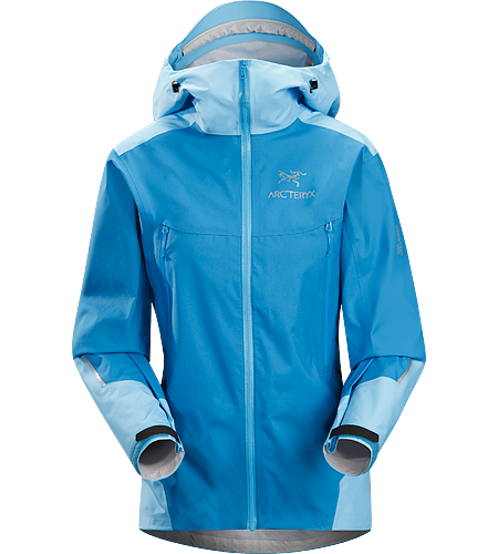 Beta FL Jacket Women's Fully waterproof, athletic fit jacket designed for backcountry ski adventures. Built using an innovative new GORE-TEX® Active Shell textile for super lightweight, breathable wet-weather protection.