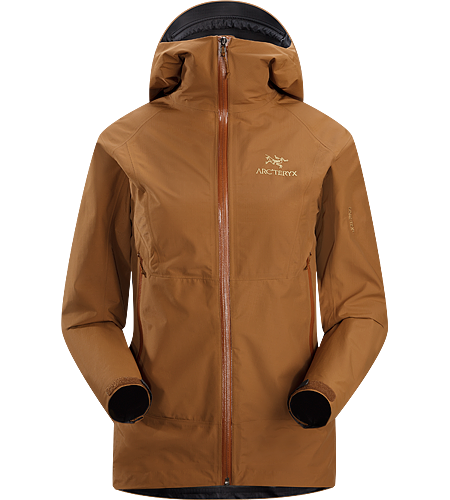 Beta SL Jacket Women's Newly Redesigned for 2012 with a slimmer fit and Storm Hood™. Super lightweight, packable, waterproof GORE-TEX® PacLite® jacket designed for take-along emergency storm protection for hikers.