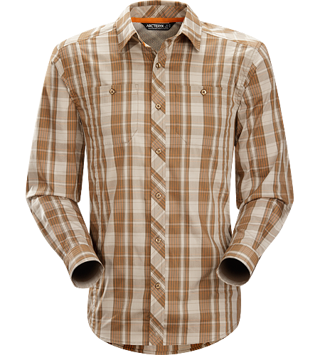 Borderline Shirt LS Men's Lightweight, breathable long sleeved shirt designed with technical features and casual styling for urban adventures