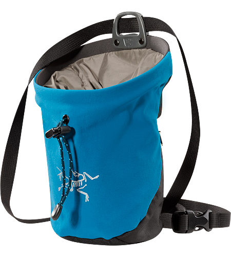 C80 Chalk Bag Newly redesigned for 2012 with new materials. Supple and tough chalkbag.