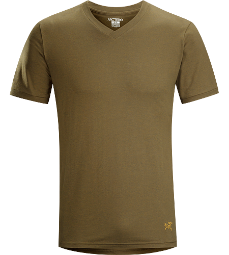 Candidate V-Neck Men's Comfortable, easy-wearing short sleeve T-shirt with V-neck, constructed with a cotton/polyester blend jersey textile that provides durable performance.