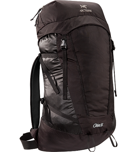 Cierzo 35 Lightweight and highly packable secondary summit pack. Our lightest day pack under 40 litres.