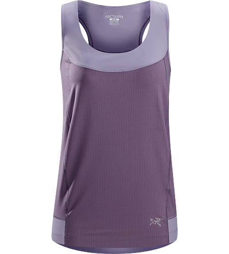 Cita Sleeveless Women's Super lightweight, performance sleeveless top with highly air permeable mesh panels throughout the main body area, paired with comfortable, stretchy racer back straps and rear yoke.
