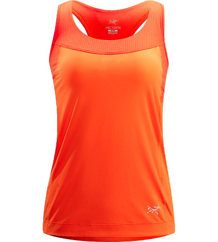 Cita Tank Women's Newly redesigned for Spring 2013. Versatile, moisture-wicking tank top with integrated shelf bra, constructed with a comfortable mesh lining and smooth face-fabric that allows for easy layering.