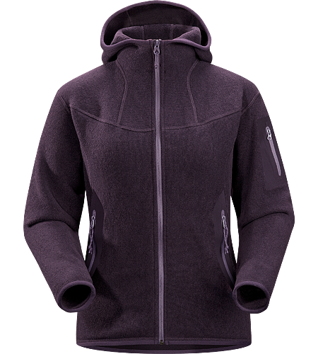 Covert Hoody Women's Breathable fleece hoody with a casual design; Ideal for layering or as a stand alone piece.