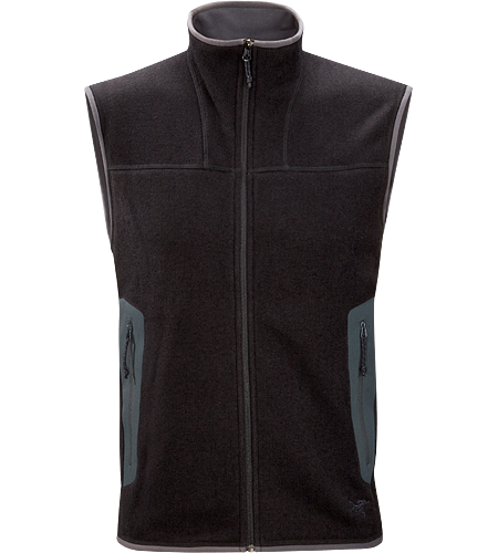 Covert Vest Men's Breathable fleece vest with a casual design; Ideal for layering to maintain core warmth.