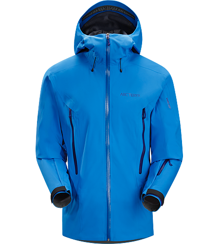 Crossbow Jacket Men's Lightly insulated, waterproof, windproof, GORE-TEX® Soft Shell jacket designed for on-area riding and skiing.