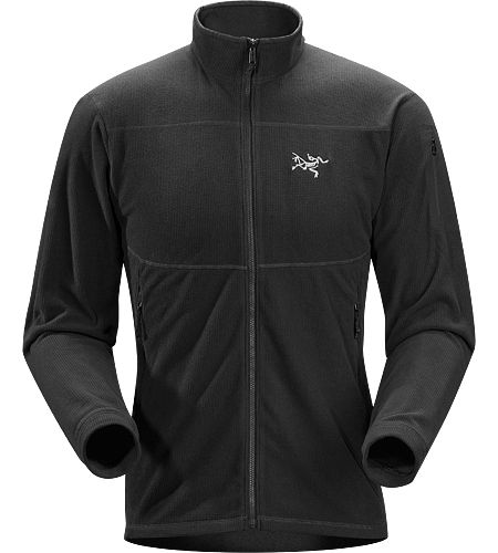 Delta LT Jacket Men's Lightweight, breathable mid-layer fleece jacket