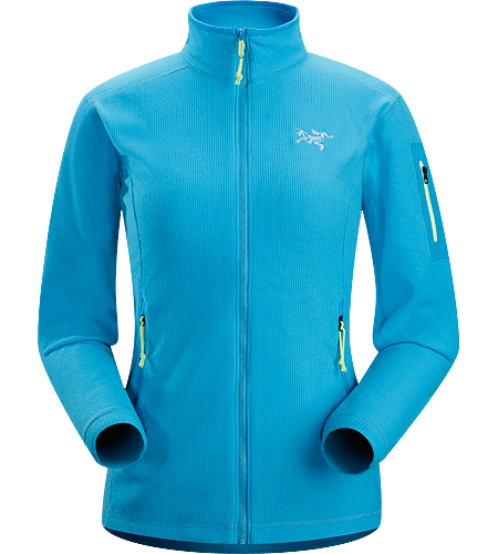 Delta LT Jacket Women's Lightweight, breathable mid-layer fleece jacket