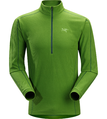 Delta LT Zip Neck Men's Breathable, moisture-wicking, lightweight insulated jersey.