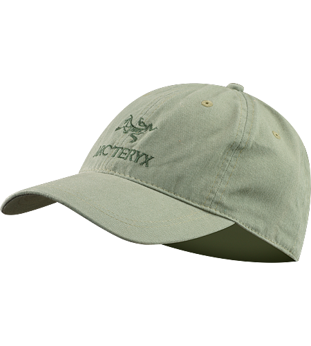 Embroidered Bird/Word Cap Baseball cap with embroidered word and bird logo