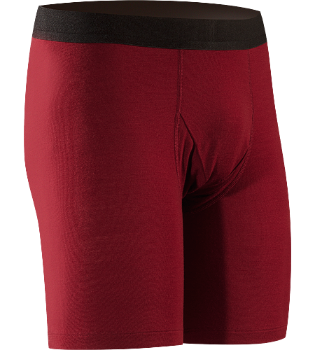 Eon SLW Boxer Men's Lightweight, base-layer boxer short, constructed using Merino Wool to maximize moisture management; Ideal for active use and during extended backcountry trips