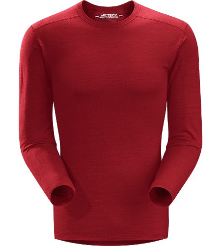 Eon SLW Crew LS Men's Lightweight base layer, constructed using Merino Wool to maximize moisture management; Ideal for active use and during extended backcountry trips