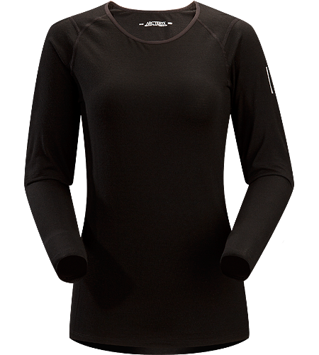 Eon SLW Crew LS Women's Lightweight base layer, constructed using Merino Wool to maximize moisture management; Ideal for active use and during extended backcountry trips