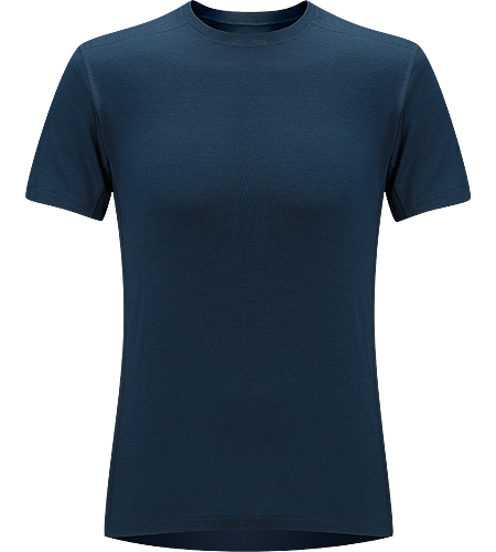 Eon SLW Tee-Shirt Homme T-shirt de premire couche lgre, en laine mrinos pour optimiser la gestion de l'humidit; Idal pour une utilisation active et des randonnes prolonges