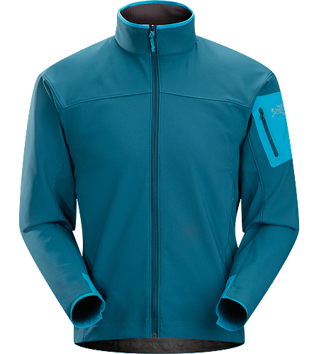 Epsilon AR Jacket Men's Lightweight and breathable, moisture-shedding hardfleece jacket.