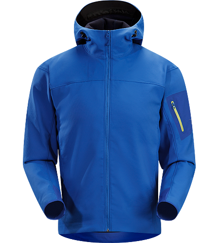 Epsilon SV Hoody Men's Medium-weight, highly breathable Hardfleece hoody.