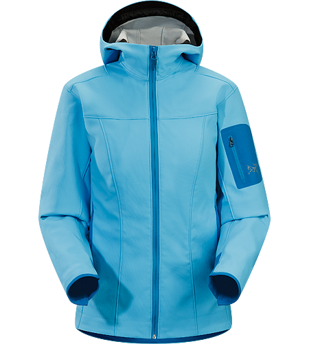 Epsilon SV Hoody Women's Medium-weight, highly breathable Hardfleece hoody.