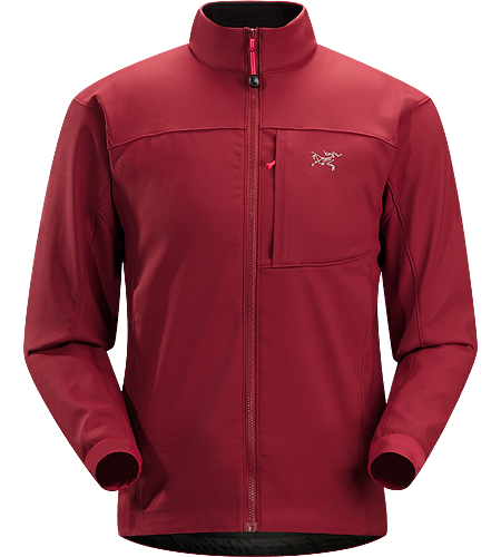 Epsilon SV Jacket Men's Medium-weight, highly breathable Hardfleece jacket, designed for use during high-output activities in cooler conditions.