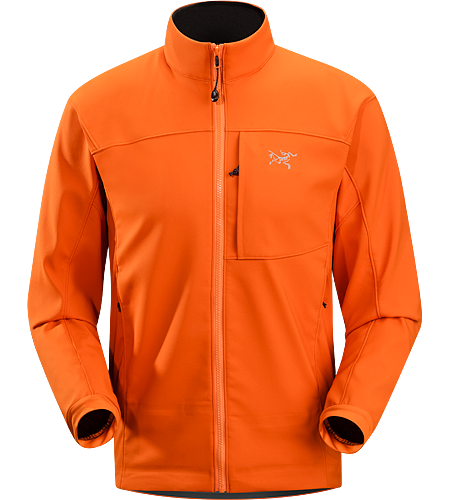 Epsilon SV Jacket Men's Hochgradig wasserdampfdurchlssige, leicht geftterte Softshell-Jacke, ideal fr schweitreibende Aktivitten bei klteren Verhltnissen