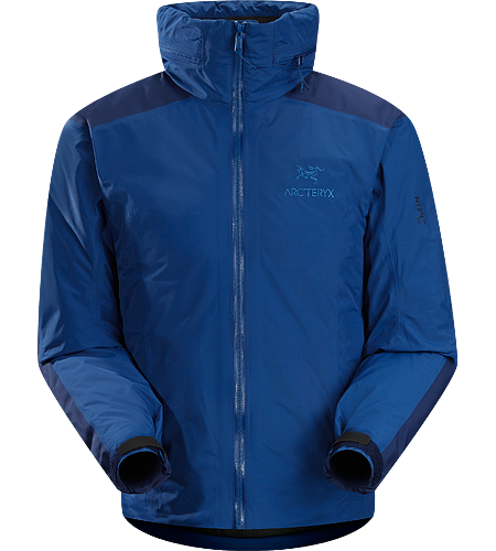 Fission AR Jacket Men's Newly redesigned with enhanced GORE-TEX Pro fabric with a softer face and Coreloft insulation. Insulated, waterproof hardshell jacket with Stow Hood.