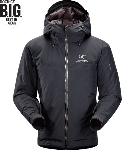 Fission SL Jacket Our lightest fully waterproof, insulated jacket.
