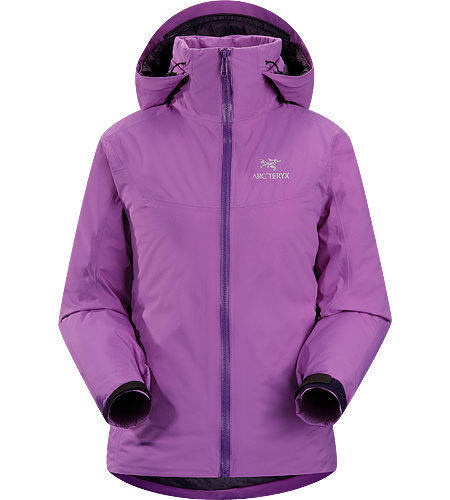 Fission SV Jacket Women's Newly redesigned with upgraded fabrics. Our warmest, fully waterproof, insulated, all-mountain jacket.