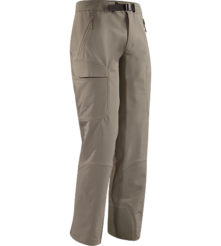 Gamma Guide Pant Men's Robuste, atmungsaktive, wind- und wasserabweisende Hose mit verstrkten Saumeinstzen fr alpines Klettern.