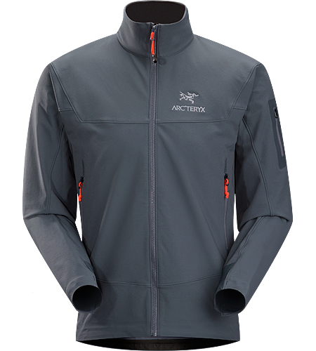 Gamma LT Jacket Men's Redesigned for 2012 with a longer length and taller collar. Durable and breathable, wind and moisture resistant softshell jacket for everyday use.
