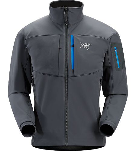 Gamma MX Jacket Men's Breathable, articulated soft shell jacket; ideal for alpine climbing and backcountry activities