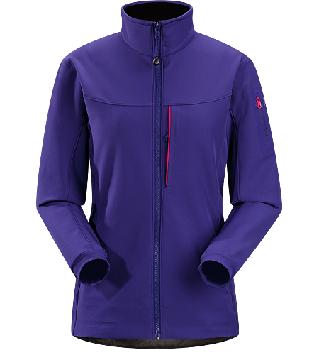 Gamma MX Jacket Women's Breathable, articulated soft shell jacket; ideal for alpine climbing and backcountry activities